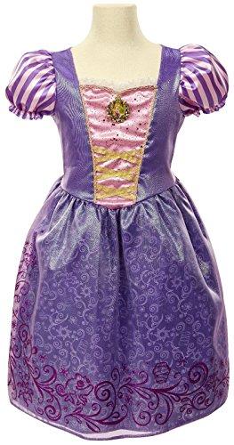 [Disney Princess Friendship Adventures Rapunzel Dress 4-6x] (Rapunzel Costumes For Girl)