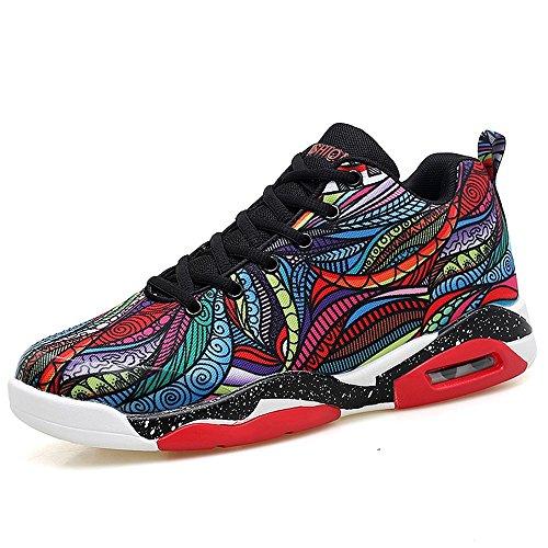 Men's Shoes Feifei Winter Wear-Resistant Keep Warm Leisure Tide Shoes 2 Colours (Color : 01, Size : EU40/UK7/CN41)