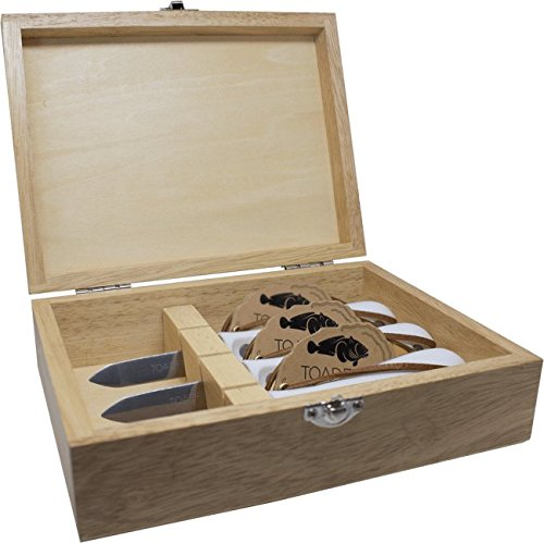 Oyster Knife Set - Professional Edition by Toadfish