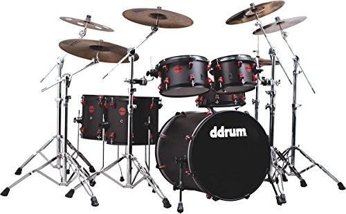 ddrum HYBRID6BLKRED Electronic Drum Set Natural