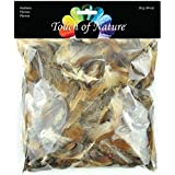 Touch of Nature Feather Value Pack Natural Mix for Arts and Craft, 28gm