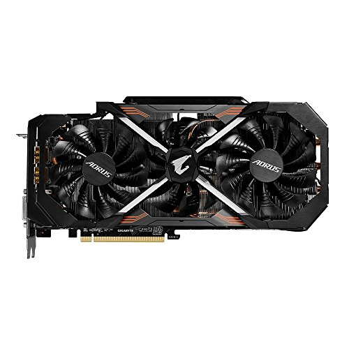 Gigabyte GeForce GTX 1080 Ti 11 GB AORUS Video Card (GV-N108TAORUS