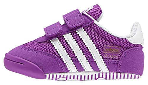 adidas Dragon L2w Crib, Zapatos (1-10 Meses) Bebé Morado (Pursho / Ftwbla / Pursho)