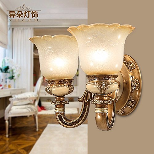 Verschiedene amerikanisch-europäischen Stil Wandleuchte Nachttischlampe Schlafzimmer - Blume Gang beleuchtung lampen 8156-1W 8112-1W,D