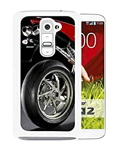 Hot Sale LG G2 Case ,Popular Unique Designed Case With Ducati 1198s Sportbike 1 White For LG G2 Case High Quality Phone Case