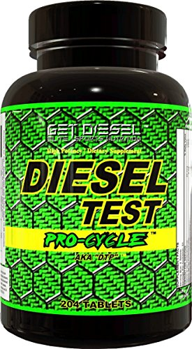 GET DIESEL DIESEL TEST Procycle Strong Test Booster and Estrogen Blocker – 204 Tabs  (Test Cycle)