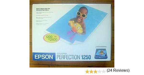 Epson Perfection 1250 драйвер для Windows XP
