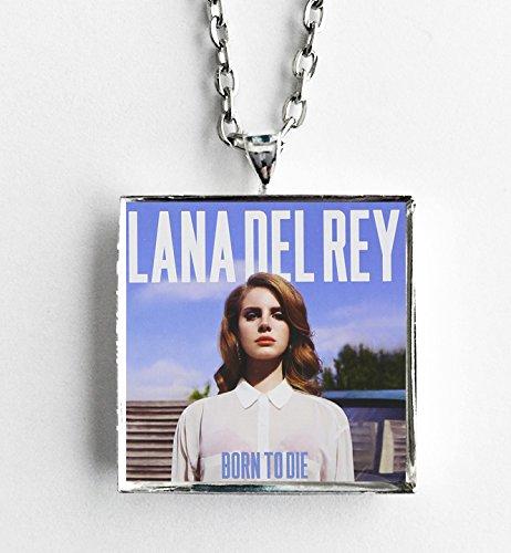 Del Rey Cover - Album Cover Art Necklace - Lana Del Rey - Born to Die