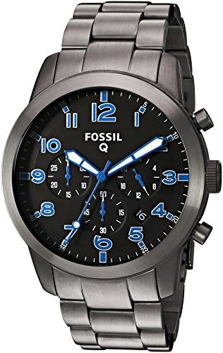 Fossil Hybrid Gunmetal Stainless Smartwatch product image
