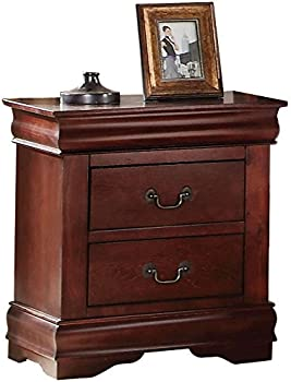 Acme Louis Philippe Nightstand with 2 Drawers