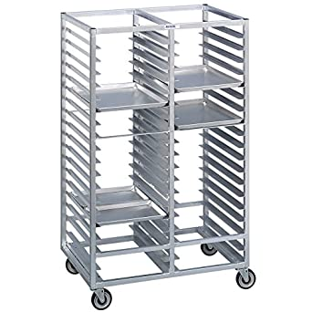 Channel 467a6 46 Tray Bottom Load Double Aluminum Cafeteria Tray Rack Assembled Amazon Co Uk Welcome