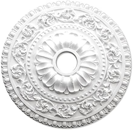 シャンデリア装飾メダリオン ゴールデンモール ポリウレタン製 NMG231