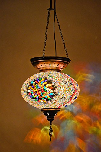 Moroccan Style Pendant Light - 7