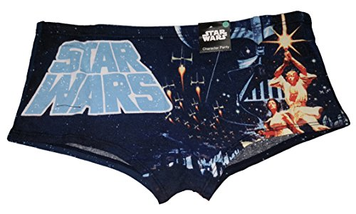 Star Wars Lingerie (Star Wars Vintage Design Boyshort Panties - Medium)
