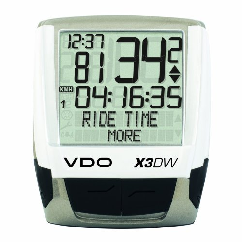 Vdo Cycle Computer (VDO X3DW Wireless Bicycle Computer)