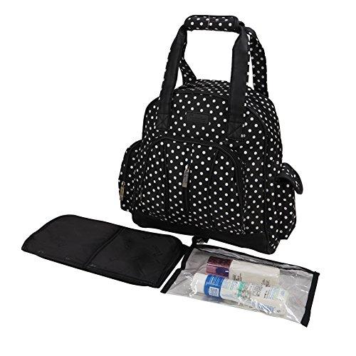 2-in-1 Diaper Bag / Backpack, 4 Piece Set