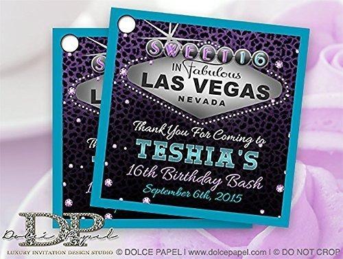 Amazon 10 Las Vegas Sign Theme Teal And Purple Custom Wedding