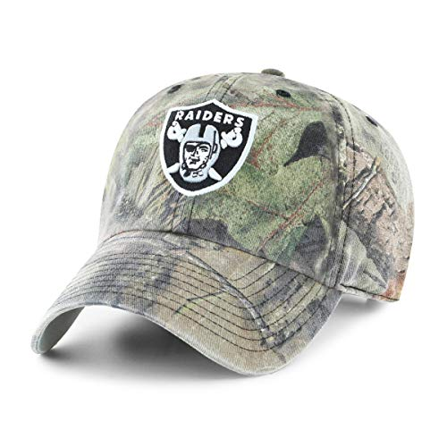 Used, OTS NFL Oakland Raiders Male Mossy Oak Challenger Adjustable for sale  Delivered anywhere in USA