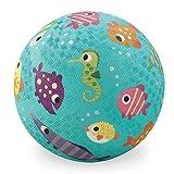 Crocodile Creek Fish Playground Ball, Teal, 5''