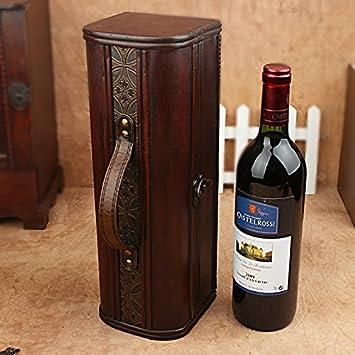 Amazon Com Yzl Antique Wine Gift Box Single Skin Box Wooden Box