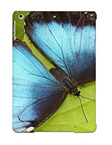 Cute Tpu Letteredor Blue Beauty Case Cover For Ipad Air