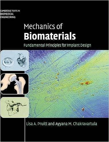 Mechanics of Biomaterials: Fundamental Principles for Implant Design  (Cambridge Texts in Biomedical Engineering): 9780521762212: Medicine &  Health Science ...