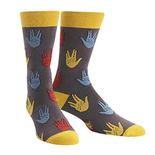 Sock It To Me Salutations Mens Crew Socks