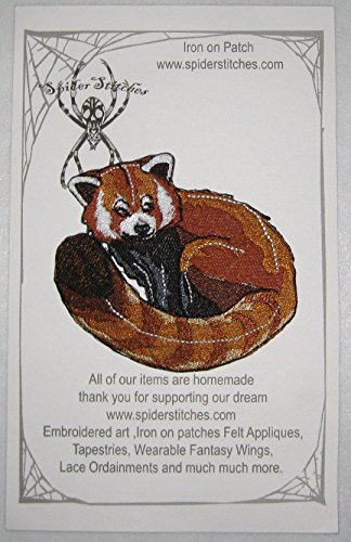Lovely Red Panda Iron on Patch