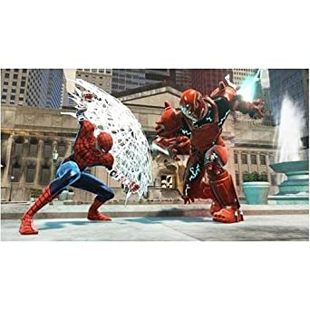 spiderman web of shadows psp