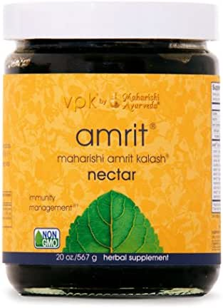 Amrit Kalash Nectar Paste | 20 oz. | Full-Spectrum Natural Antioxidant Herbal Supplement | Enhances Coordination of Mental Functions | Proven Chemotoxicity Support