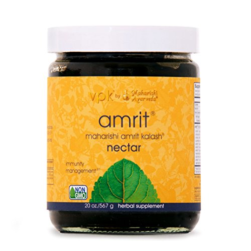 Amrit Kalash Nectar Paste | 20 oz. | Full-Spectrum Natural Antioxidant Herbal Supplement | Enhances Coordination of Mental Functions | Proven Chemotoxicity Support