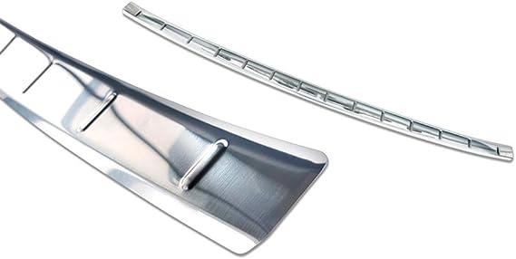 spazzolato Per C5 AIRCROSS acciaio inox cromato paraurti posteriore protezione paraurti paraurti 2018+