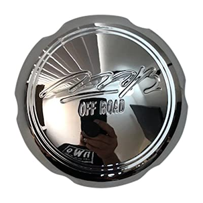 MB Offroad Wheels C-096-6 C-JD-03 81922 Chrome Wheel Center Cap: Automotive