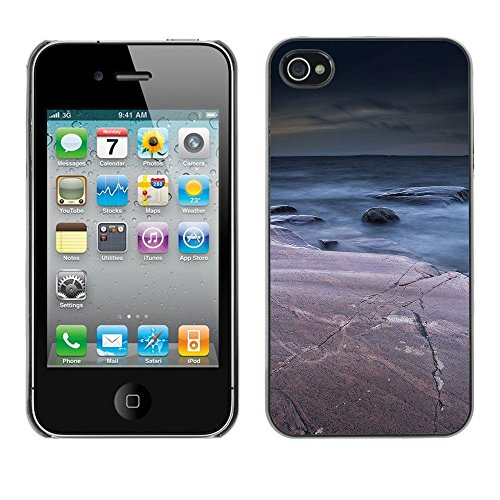 Premio Sottile Slim Cassa Custodia Case Cover Shell // F00002670 mer // Apple iPhone 4 4S 4G