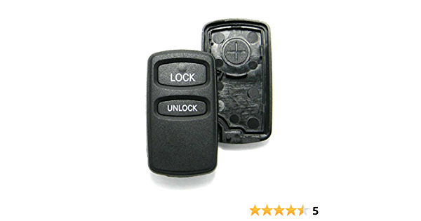 Montero Sport with FREE PROGRAMMING INSTRUCTIONS Lancer RemoteOverstock for Mitsubishi Remote Key Fob with FACTORY ORIGINAL OEM Electronics fits Mitsubishi Endeavor Galant Outlander FCC ID: OUCG8D-525M-A Part No.G8D-525M-A Eclipse 2 Buttons