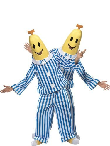 Bananas in Pyjamas Costume Chest 38-40 by Fancy Dress To (Bananas In Pyjamas Fancy Dress Costumes)
