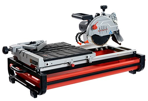 BEAST Wet Tile Saw - 7'' Professional Benchtop Tool with 13 AMP Motor & Porcelain Cutting Blade - BEAST7 by Lackmond