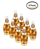 PACK OF 8 - OGX Anti-Frizz Hydrating Oil Kukui Oil, 4.0 FL OZ