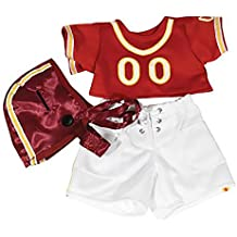 Red Football Outfit Fits Most 14 -?? 18 build-a-bear, Vermont Teddy Bear and Make Your Own Stuffed Animals