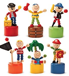 Pirate Fingermajigs, set of 6