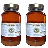 Dill Seed Alcohol-FREE Liquid Extract, Organic Dill Seed (Anethum Graveolens) Dried Seed Glycerite Hawaii Pharm Natural Herbal Supplement 2x32 oz Unfiltered