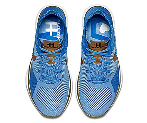 Nike Gratis Trein Instinct Hert, Vlr Blauw / Metallic Goud-pht Bl-vlt, 6