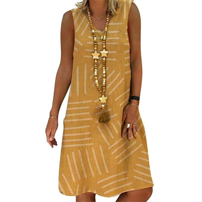 6489387548 Glomixs Vestidos De Fiesta para Bodas Talla Grandes Vestidos Playa Mujer  Vestidos Casuales Vestido Midi Vestido Verano Vestidos Mujer Vestido   Amazon.es  ...