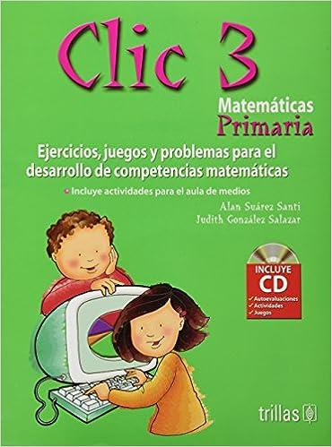 Amazon.com: Clic 3, Matematicas Primaria/ 3rd Grade Mathematics ...