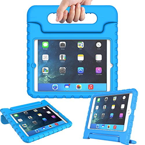 (AVAWO Kids Case for iPad Mini 1 2 3 - Light Weight Shock Proof Handle Stand Kids for iPad Mini, iPad Mini 3rd Generation, iPad Mini 2 with Retina Display - Blue)