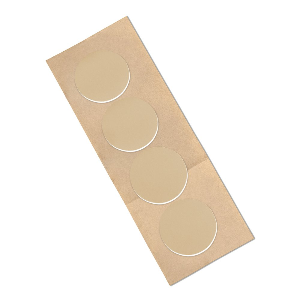 31 mil 0.8 mm Thick 3M 4492W CIRCLE-2-100 Polyethylene Foam Tape 3M 4492W CIRCLE-2-100 Pack of 100 2 Inches Circles