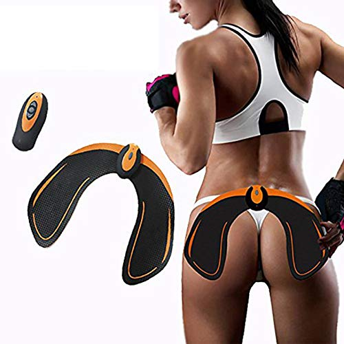 Stimulator EMS Hip Trainer Butt Toner with Intelligence System, Helps to Lift, Shape and Firm, Body Massager for Women Fitness
