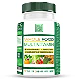 Multivitamin, Multivitamin for Women, Multivitamin for Men - Natural Non-GMO Multivitamins by Whole Garden Health - 90 Count Bottle, B Vitamins, Natural Energy, Heart Health, Essential Amino Acids