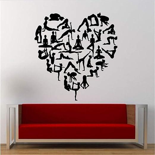 Patrón De Amor Yoga En Forma De Corazón Todas Las Posiciones ...