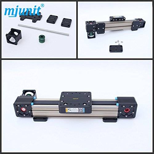 mjunit MJ60 High speed belt drive linear actuator with 2100mm stroke ()